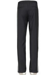 Valentino Wool And Mohair Pants Grey
