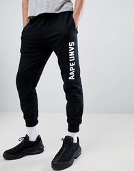Aape By A Bathing Ape Joggers With Logo In Black