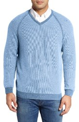 Tommy Bahama Men's Big And Tall Make Mine A Double Sweater Polar Sky