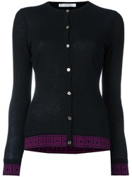 Versace Collection Classic Cardigan Black