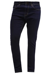 Pier One Slim Fit Jeans Dark Blue Rinsed