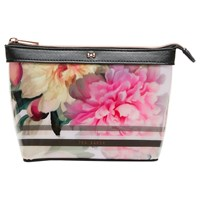 Ted Baker Jamel Painted Posie Small Makeup Bag Baby Pink