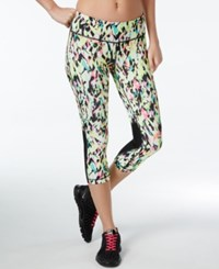 Ideology Printed Cropped Leggings Only At Macy's Rapid Fire