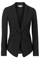 Zoned Out Black Fitted Blazer By Wyldr