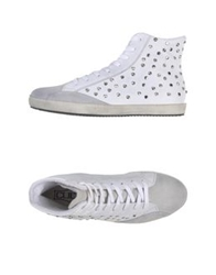 Cult High Tops And Trainers White