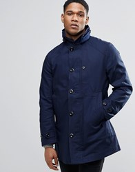 G Star Garber Trench Coat Sartho Blue Navy