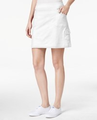 Styleandco. Style And Co. Petite Pull On Skort Only At Macy's Bright White