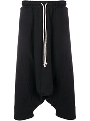Alchemy Cropped Length Track Trousers Black