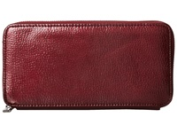 Hobo Lucy Pebbled Mulberry Clutch Handbags Burgundy