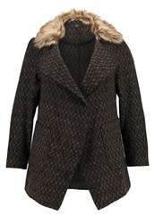 Evans Short Coat Brown Dark Brown