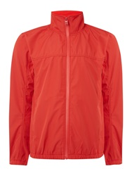 Duck And Cover Scope Light Weight Funnel Neck Jacket Red