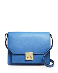 Ivanka Trump Flap Shoulder Bag Compare At 250 French Blue