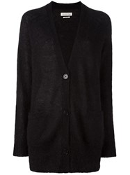 Etoile Isabel Marant Knitted Long Cardigan Black