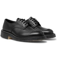 Tricker's Leather Derby Shoes Black
