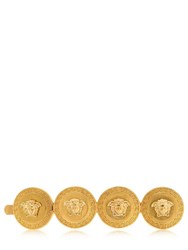 Versace Heritage Medusa Coin Hair Pin Gold