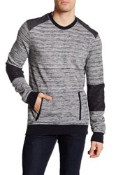 Rogue Knit Pullover Sweater Gray