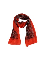 Escada Accessories Oblong Scarves Women Red