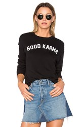 Spiritual Gangster Good Karma Arch Sweatshirt Black