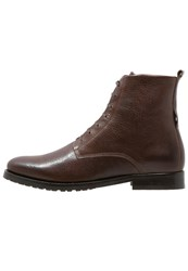 Royal Republiq Nano Laceup Boots Brown