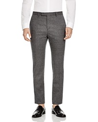 Hardy Amies Melange Slim Fit Flannel Trousers Bloomingdale's Exclusive