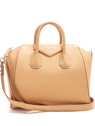 Givenchy Antigona Medium Leather Tote Beige