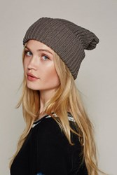 Free People Womens Super Slouch Beanie