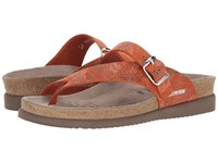 Mephisto Helen Sun Burnt Orange London Women's Shoes Brown