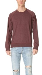 Splendid Mills Crew Neck Sweatshirt Brick Dust