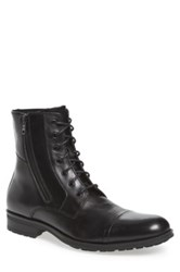 Kenneth Cole Reaction Single Mind Cap Toe Boot Black