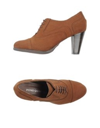 Pons Quintana Lace Up Shoes Brown
