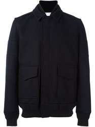 Sacai Shawl Collar Jacket Blue