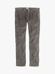 J.Crew Stretch Cord Trousers Dusty Charcoal