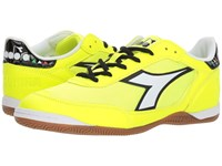 Diadora Cinquinha Id Yellow Fluo White Soccer Shoes