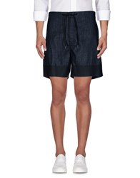 J Brand Denim Bermudas Black