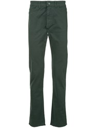 Gieves And Hawkes Straight Leg Trousers Grey