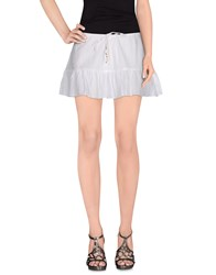 Ralph Lauren Mini Skirts White