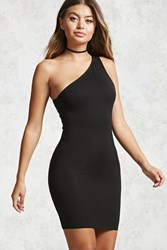 Forever 21 One Shoulder Bodycon Mini Dress