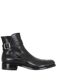 Premiata Belted Leather Boots