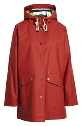 Pendleton Astoria Rain Jacket Red