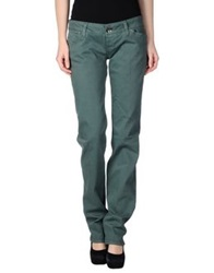Two Women In The World Denim Pants Green