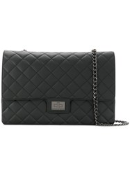 Designinverso Quilted Shoulder Bag Black
