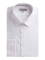 Alexandre Of England Men's White Micro Shirt White