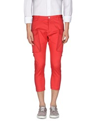 Dsquared2 Trousers 3 4 Length Trousers Men Coral