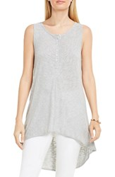 Vince Camuto Women's Two By High Low Tank Grey Heather