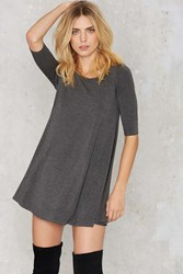 Nasty Gal Two Live Crew Neck Dress
