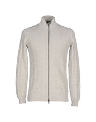 Scaglione Knitwear Cardigans Men Light Grey