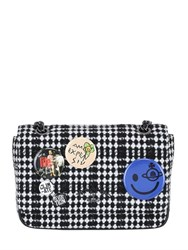 Vivienne Westwood Medium Avon Plaid Wool Bag With Pins
