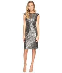 Rsvp Ridgely Sequin Dress Gold Women's Dress