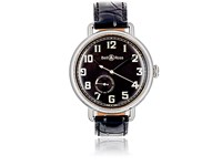 Bell And Ross Men's Ww1 97 Heritage Watch Black