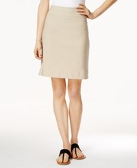 Charter Club Pull On Skort Only At Macy's Sedona Dust